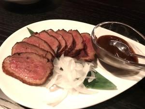 北京風 鴨胸肉の香り揚げ